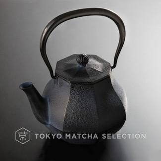 [Rare] Nanbu Tetsubin - Miyabi (L) - 1.0 Liter : Japanese Blue cast iron teapot kettle