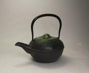 [Offer Limited] TETSUBIN - AOTAKE (Green Bamboo) KYUSU w Kiyomizuyaki Lid