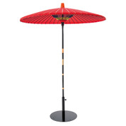 [3 Size] Nodategasa - Japanese Giant Red-Lacquered Umbrella Parasol for tea ceremony