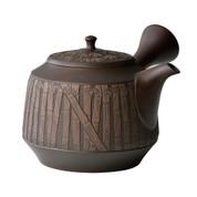[Heritage Grade/Offer Limited] Tokoname Kyusu : Syunen Mano - Bamboo Groves