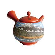 Copy of [Heritage Grade/Offer Limited] Tokoname Kyusu : Setsudo Yoshikawa- Mt.Fuji - Japanese Tea Pot