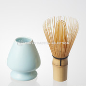 [VALUE] Chasen Set : Matcha Bamboo Whisk 80 & Whisk Stand (2 color)