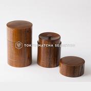 *25%off* Premium Urushi Chazutsu 2 size - Japan Lacquareware Tea Caddy Canister