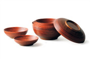[VALUE] Oshima : Negoro Bowls & Dishes Set 7 pcs.- Negoro Nuri Lacquerware