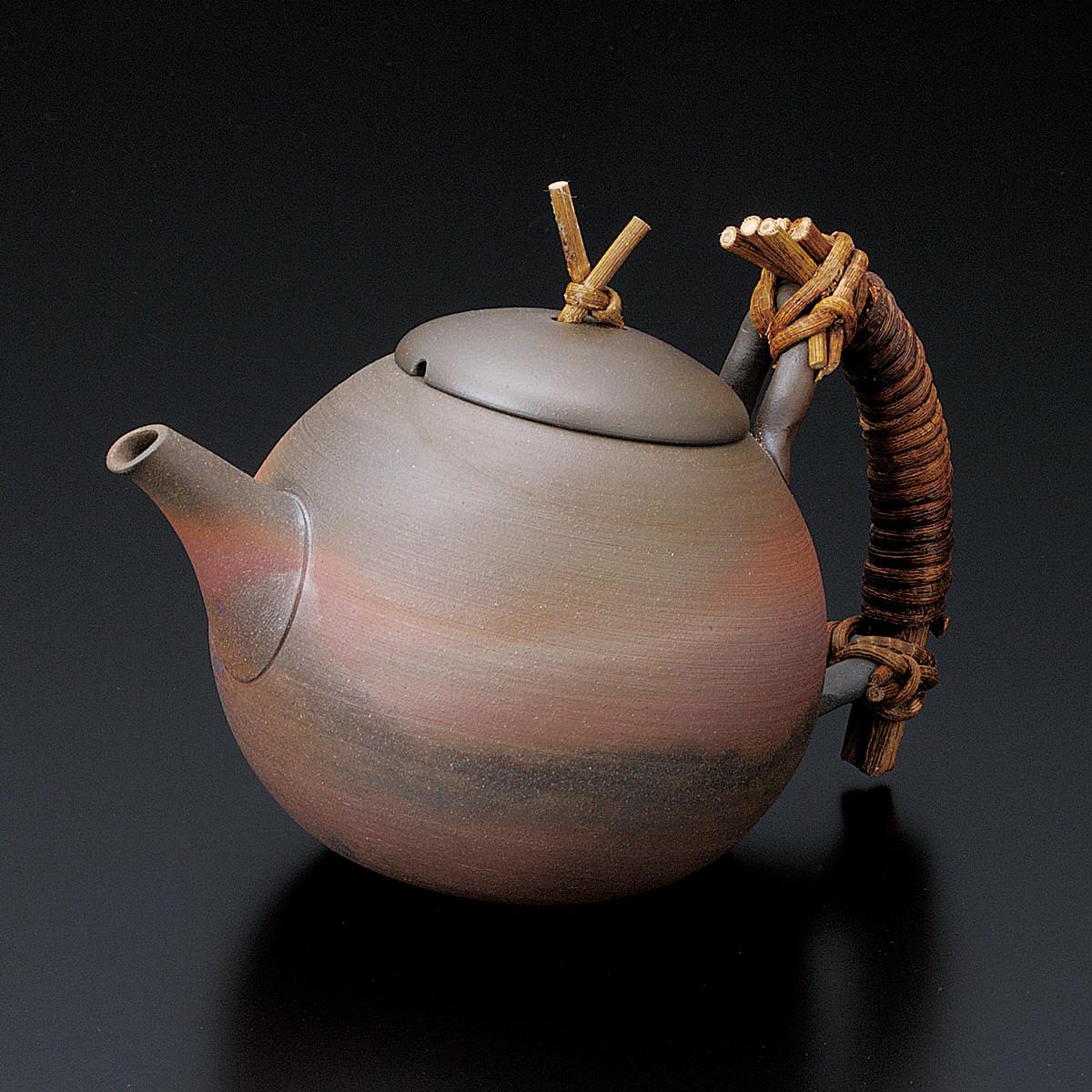 Tokoname Pottery : SEIJI ITO Premium - Japanese Kyusu tea pot 450cc B