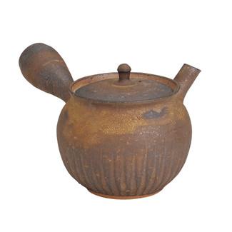 Tokoname Pottery : JUNZO MAEKAWA - Japanese Kyusu tea pot 350cc Ceramic fine mesh net