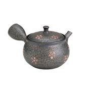 Tokoname Pottery : SAKURA (B) - Japanese Kyusu tea pot 210cc Ceramic Mesh