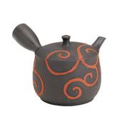 Tokoname Pottery : SEKIRYU - Japanese Kyusu tea pot 300cc Ceramic Mesh