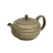 Tokoname Pottery : HAKUSUI - Japanese Tea Pot 370cc Parallel Stainless steel net