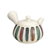 Tokoname Pottery : KOSEI - Japanese Tea Pot 390cc Sawayaka Fine Mesh Net