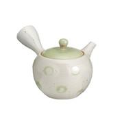 Tokoname Pottery : ISSHIN - Japanese Tea Pot 300cc Sawayaka Fine Mesh Net