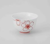 Hasami Porcelain : SAKURA - Japanese Tea cup