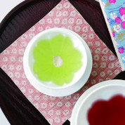 SAKURA Teacup : 2 size - Japanese Hasami White Porcelain for Teatime