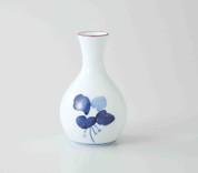 Sake Bottle & 2 Cups Set : Manryo - Japanese Hasami Porcelain