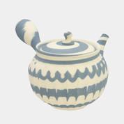 Tokoname Pottery : JYUNZO MAEKAWA - Japanese Pottery Kyusu Tea Pot 310cc