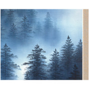 Landscape ( I ) - with Paulownia Wood Box