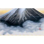 Mount Fuji (D) with Paulownia wood box