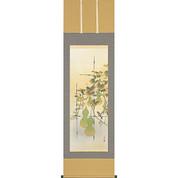 Kakejiku : Six Gourds - Hyoutan (A) - with wood box