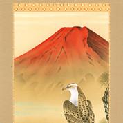 Three Fortunes / Sanpuku no zu - with wood box
