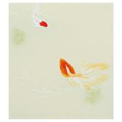 Goldfish / Kingyo - with wood box