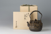 Takaoka Tetsubin - Iron Kettle Teapot : Dragon and Clouds