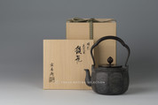 Takaoka Tetsubin - Iron Kettle Teapot : Eight Views of Omi