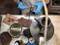 Fukumaru Inka - flower - Premium Kiwami Shudei kyusu teapot 270cc w handcrafted ceramic mesh