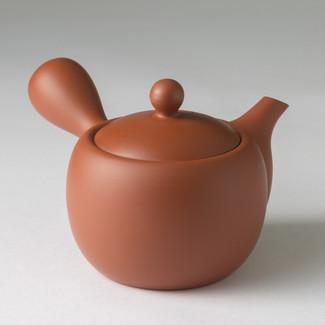 Amimaru - Premium Kiwami Shudei kyusu teapot 370cc w handcrafted ceramic mesh