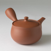 Hanagata - Premium Kiwami Syudei kyusu teapot 370 cc/ml w handcrafted ceramic mesh