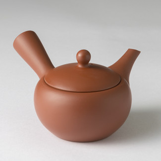 Komaru - Premium Kiwami Shudei kyusu teapot 200 cc/ml w handcrafted ceramic mesh