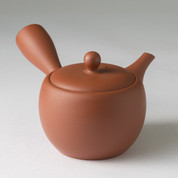 Natsume - Premium Kiwami Shudei kyusu teapot 350 cc/ml w handcrafted ceramic mesh