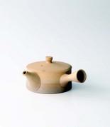 Tokoname kyusu - KOJI IWASE (200cc/ml) ceramic mesh - Japanese teapot