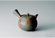 Tokoname kyusu - TERUYUKI ISOBE (460cc/ml) ceramic mesh - Japanese teapot