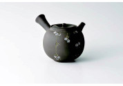Tokoname kyusu - SEIHO TSUZUKI (350cc/ml) ceramic mesh - Japanese teapot