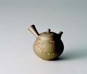 Tokoname kyusu - SEIHO TSUZUKI (230cc/ml) ceramic mesh - Japanese teapot