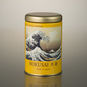 Black tea Yuzu citron Teabg w The Great Wave off Kanagawa (Kanagawa-oki nami ura) - Fugaku sanju-rokkei (Thirty-Six Views of Mt Fuji) 16g (2g*8p) - package01