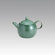Kyusu - SOZAN (350cc/ml) Green - obi ami stainless steel net - Item Image