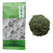 [JAS Certified Organic] Mountain-grown Fukamushi Yabukita Sencha green tea 100g (3.52oz) - Leaf