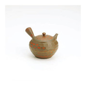Tokoname kyusu - YUSEN (330cc/ml) ceramic mesh - Japanese teapot