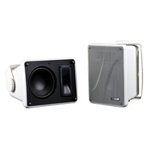 KICKER KB6000 Full-Range Indoor/Outdoor Speakers - White