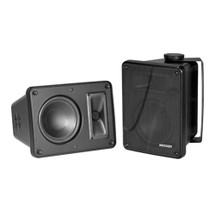 KICKER KB6000 Full-Range Indoor/Outdoor Speakers - Black