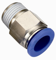 Male Straight Connector Push-On Fitting
