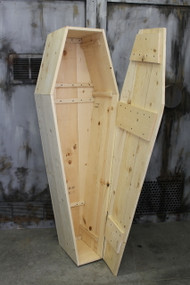 Classic Old-Time Coffin