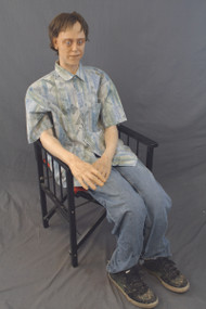 Sitting Lifecast Male