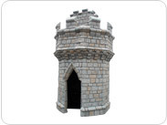 Tower Kit (Unpainted Black)