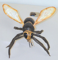 Giant Latex Wasp Halloween Rubber Prop