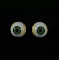 Eyes w/ Green Iris Halloween Prop