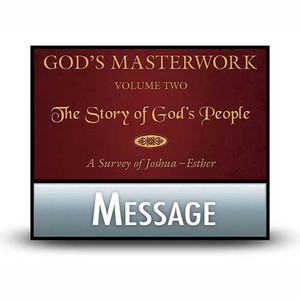 God's Masterwork, Vol 2:  01  Joshua: Triumph after Tragedy.  MP3 Download