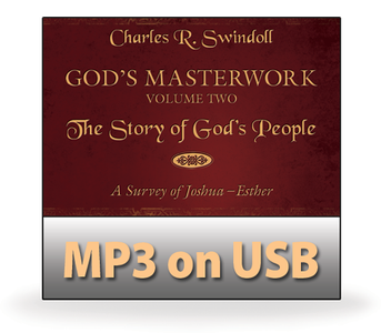 God's Masterwork, Vol 2: The Story of God's People - A Survey of Joshua-Esther.   11 MP3 on USB Series