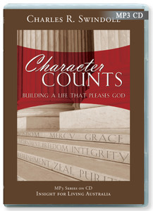 Character Counts.    12 MP3 Files on CD